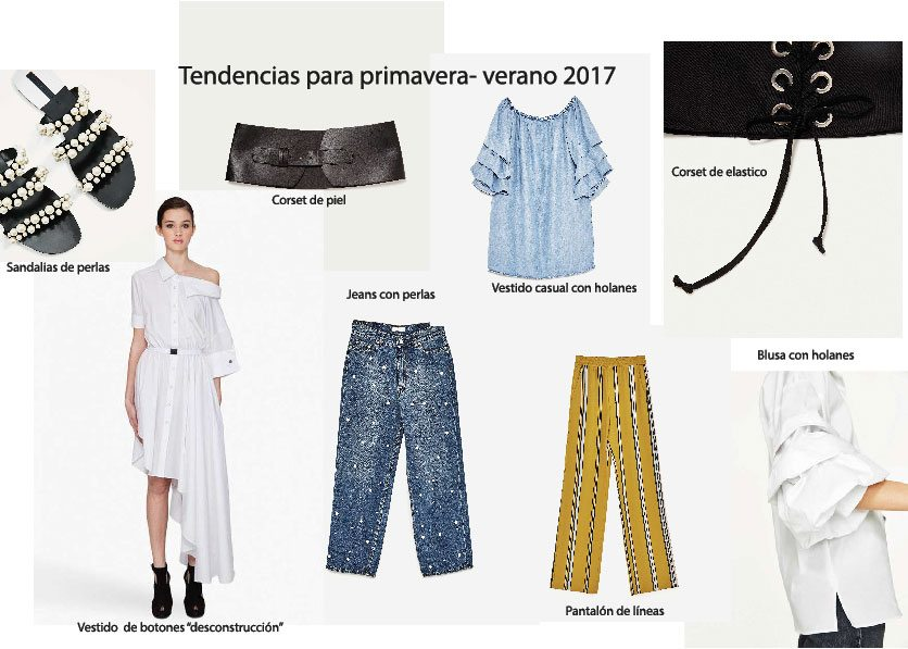 Cinco tendencias para Spring/Summer